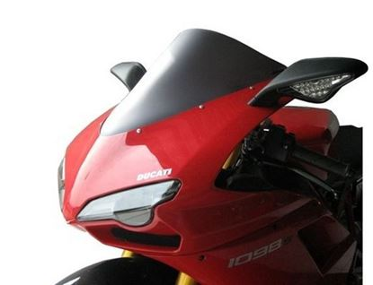 Εικόνα της Fabbri Double Bubble Light Smoke Ducati 848 / 1098 / 1198 '07-'10