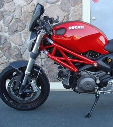 Εικόνα της Fabbri Gen-X Black Mat-Clear Ducati MONSTER 696 / 796 / 1100