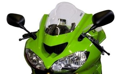 Εικόνα της Fabbri Double Bubble Clear KAWASAKI ZX10R / Z750S '04-'05