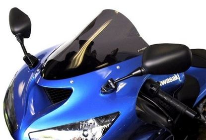 Εικόνα της Fabbri Double Bubble Clear KAWASAKI ZX10R '06-'07 / ZX6R / ZX636 '05-'07