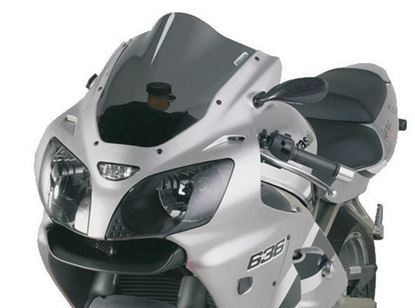 Εικόνα της Fabbri Double Bubble Clear KAWASAKI ZX6R / ZX636 '00-'02