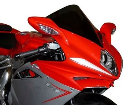 Εικόνα της Fabbri Double Bubble Light Smoke MV AGUSTA F4 1000 '10-'13