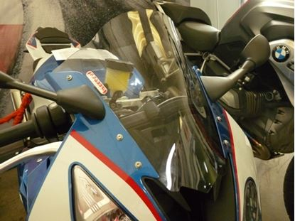 Εικόνα της Fabbri Double Bubble Clear  BMW S1000RR '15