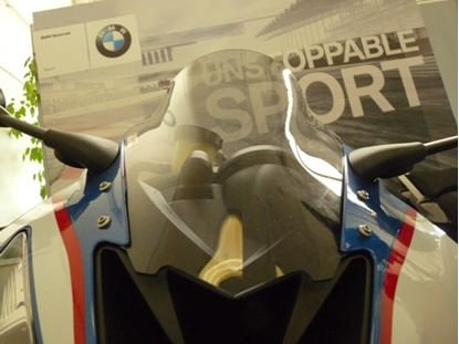 Εικόνα της Fabbri Double Bubble Light Smoke BMW S1000RR '15