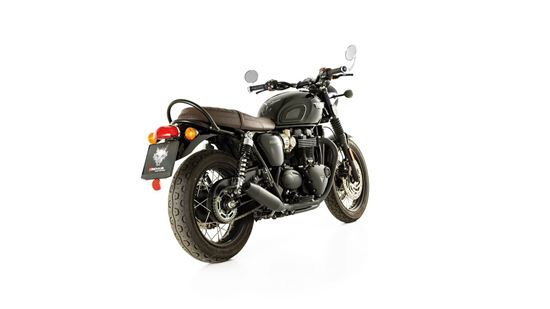Εικόνα από REMUS Stainless steel black Triumph Bonneville T120/T120 Black 2018