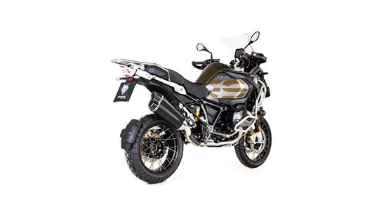 Εικόνα από REMUS 8 Stainless Steel Black Matt BMW R 1250 GS 2019