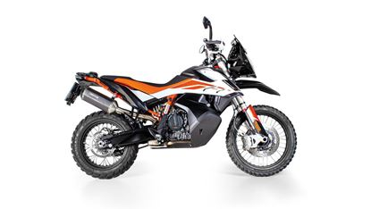 Εικόνα της REMUS BLACK HAWK stainless steel black   KTM 790 Adventure R 2019