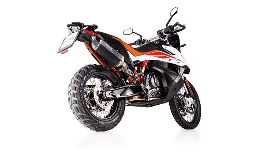 Εικόνα από REMUS BLACK HAWK stainless steel black   KTM 790 Adventure R 2019