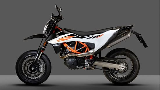 Εικόνα από REMUS stainless steel BLACK HAWK KTM 690 SMC R MY19-