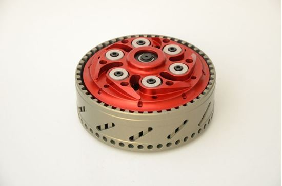 Εικόνα από TSS SLIPPER CLUTCH FOR  DUCATI 848 (48T) WITH PERFORMANCE DRY CLUTCH KIT