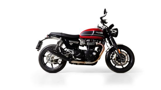 Εικόνα από REMUS stainless steel  black TRIUMPH SPEED TWIN  2020